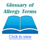 Allergy Glossary